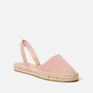 NEW Justfab Full Spring Espadrille Flats Sandals